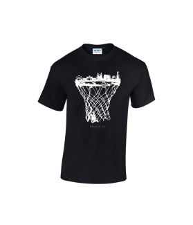 bruxelles skyline basketball shirt schwarz - bballurtown