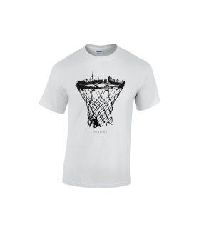 hamburg skyline basketball shirt weiß - bballurtown